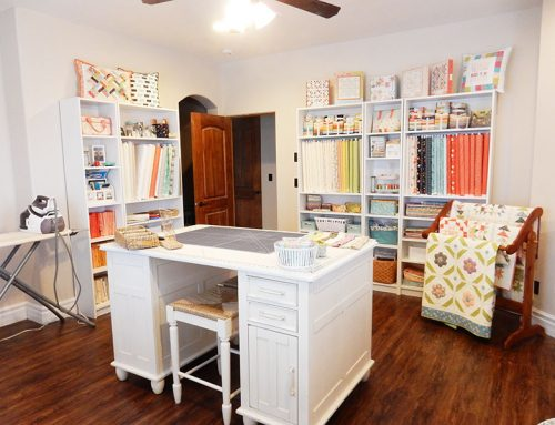 Getting control of your sewing/craft room